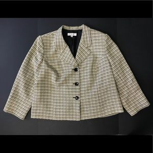 Jones New York blazer Jacket Plus Size 24W